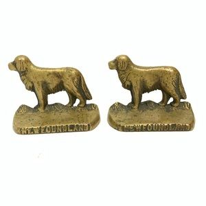 Vintage NAFCO NEWFOUNDLAND Pairs Dog Heavy Duty